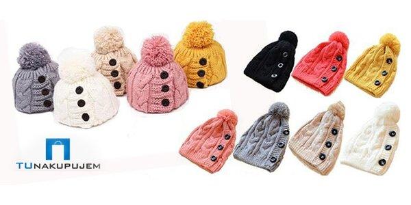 Dámská zimní čepice včetně poštovného