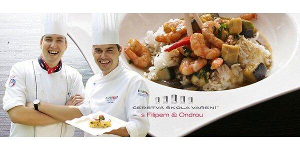 Oblíbené a zábavné kurzy vaření s Kluky v akci