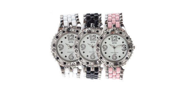 Dámské hodinky s vyměnitelnými náramky Elite