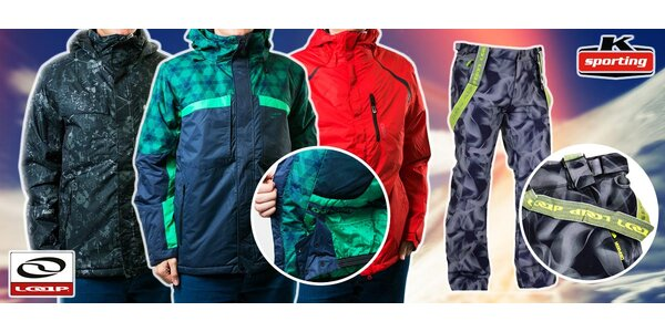 Pánské zimní bundy a kalhoty LOAP