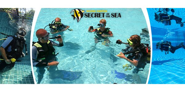 Zkušební potápění + vstup do bazénu
