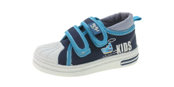 Dětské tmavě modré tenisky Beppi