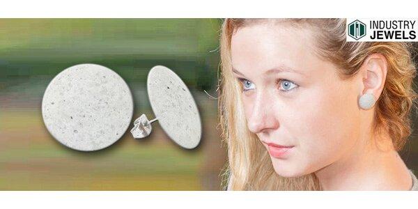 """Betonové náušnice """"Dot"""" od Industry Jewels"""