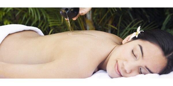Hodinová masáž - Lomi Lomi, thajská a další
