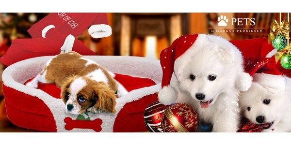Santaclausovské pelíšky pro psy