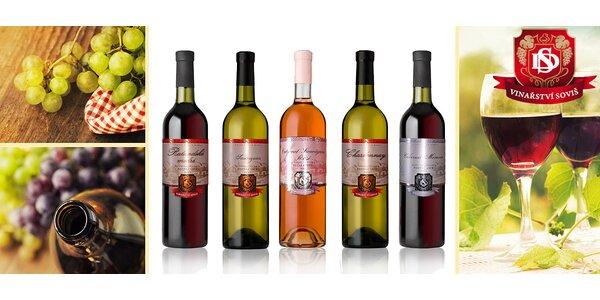 6 znamenitých ročníkových vín z Vinařství Soviš