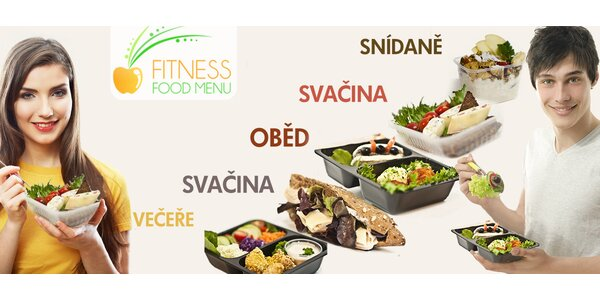 Netradiční a zdravá krabičková dieta s Fitness food menu na 5 dní