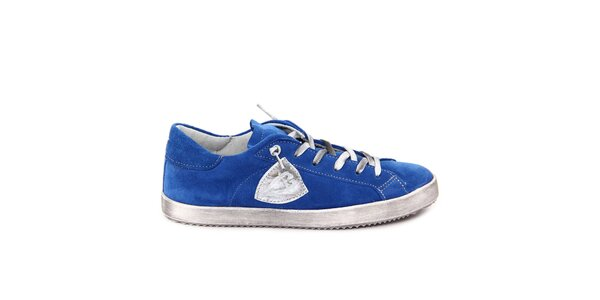Dámské modré semišové tenisky Nina Morena