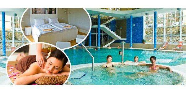 Wellness hýčkání v novém 4* hotelu v Konstantinových Lázních