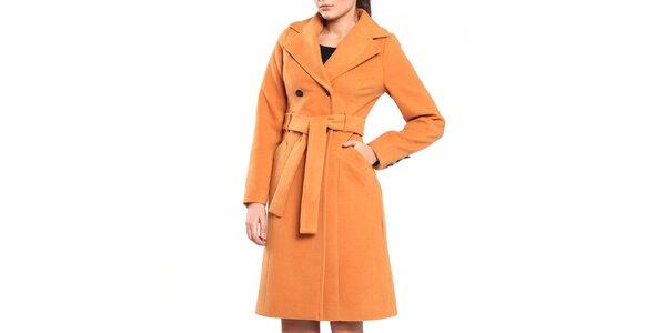 Dámský oranžový kabát Vera Ravenna