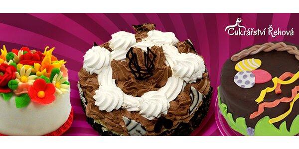 Ručně vyráběný dort pro každou příležitost