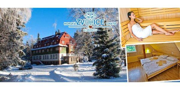 3 dny s wellness na pomezí Krkonoš a Jizerek
