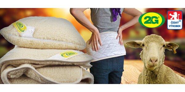 Deky, polštáře a další produkty z MERINO vlny