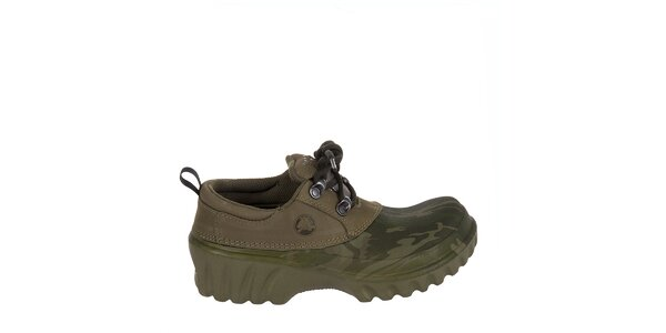 Chlapecké maskáčové polobotky Crocs