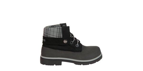 Chlapecké šedé boty Crocs