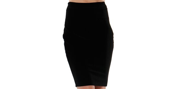 Dámská černá pouzdrová sukně do pasu Leggsington