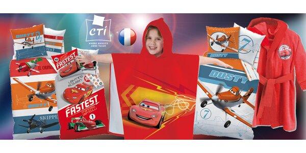 Doplňky pro malé závodníky s Disney Cars a Planes