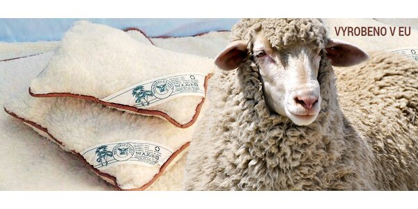 Hypoalergenní set lůžkovin ze 100% ovčího rouna