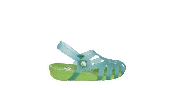 Dívčí modré sandálky Crocs