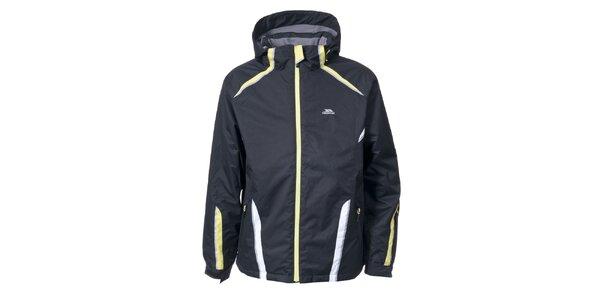 Pánská lyžařská bunda v černé barvě Trespass