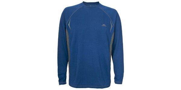 Pánské modré triko s dlouhým rukávem Trespass