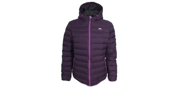 Dámská fialová péřová bunda Trespass