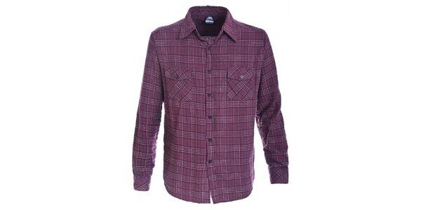 Pánská flanelová košile s kostkovaným vzorem Trespass