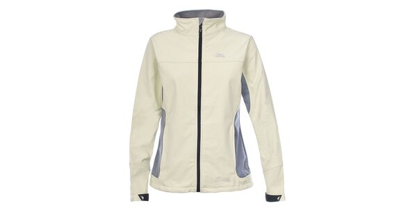 dac74e0d385 Dámská softshellová bunda s šedými prvky na bocích Trespass