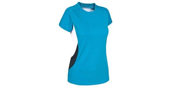 Dámské tyrkysové funkční tričko s krátkým rukávem Trespass