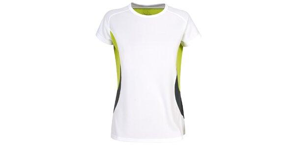 Dámské bílé funkční tričko s krátkým rukávem Trespass