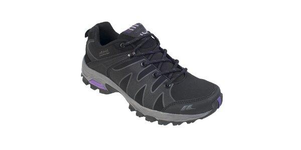 Dámské černé softshellové boty Trespass
