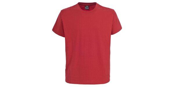 Pánské červené tričko s krátkým rukávem Trespass