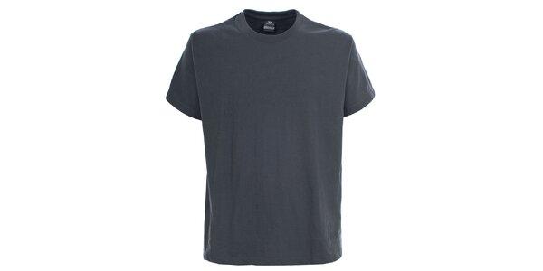 Pánské šedé tričko s krátkým rukávem Trespass