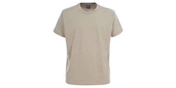 Pánské šedobéžové tričko s krátkým rukávem Trespass