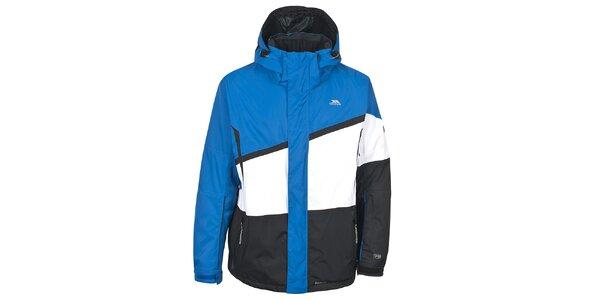 Pánská modro-černo-bílá lyžařská bunda Trespass