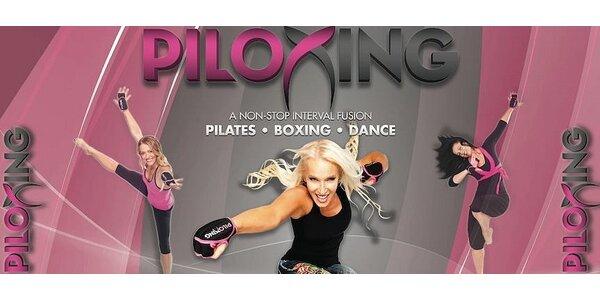 PILOXING - 3 lekce - spojení pilatesu, boxu a tance