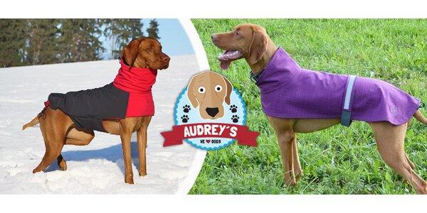 Outdoorové pláštěnky pro psy Audrey's
