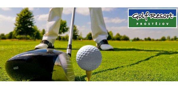 99 Kč za celodenní vstup do golfového areálu včetně zapůjčení holí!