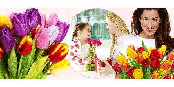 Deset krásných tulipánů nejen ke Dni matek