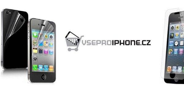 Ochranná folie pro iPhone všech generací s poštovným zdarma