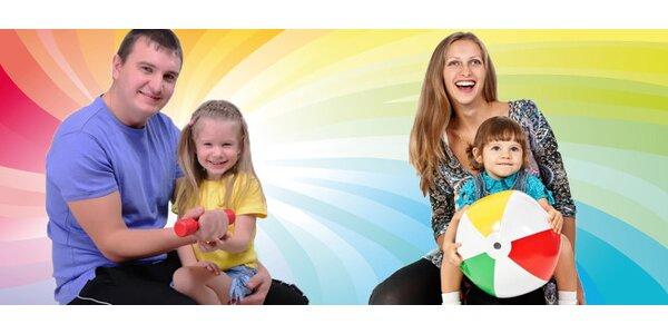 Cvičení rodičů s dětmi (2-5 let) - 4 vstupy