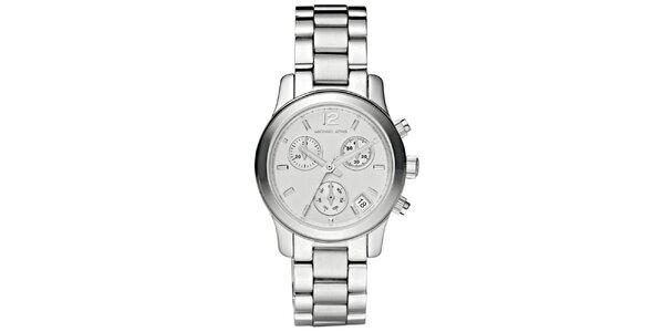 Dámské jednoduché ocelové hodinky s kulatým ciferníkem Michael Kors