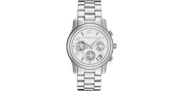 Dámské hodinky ve stříbrné barvě Michael Kors