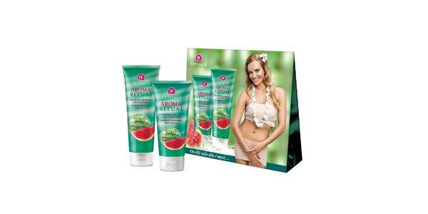 Dermacol dárkový balíček AROMA RITUAL Vodní meloun (250ml+200ml )