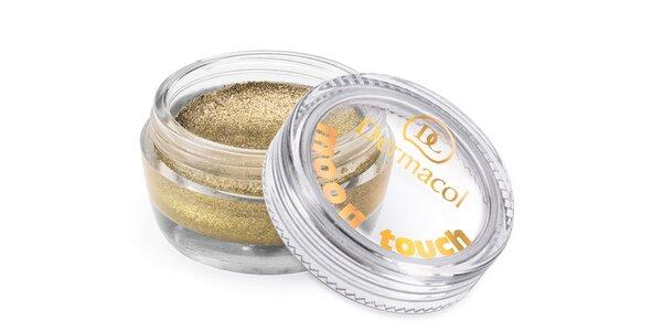 Dermacol pěnové Dermacol oční stíny Moon Touch č.10 - zlatá 4,9g