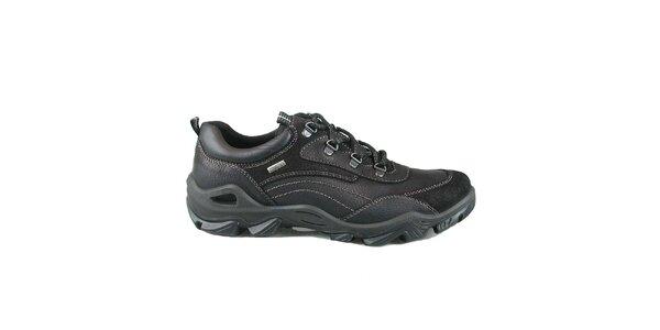 Pánské černé boty s prošíváním Numero Uno