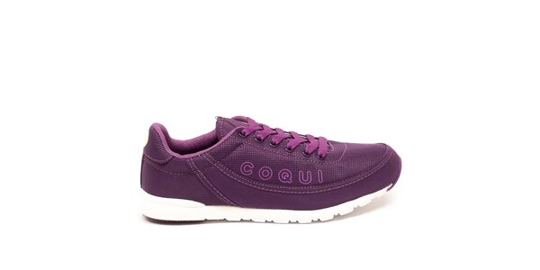 Dámské fialové textilní sportovní tenisky Numero Uno