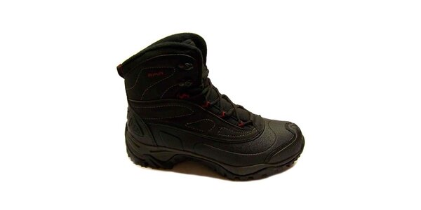 Pánské černé zimní trekové boty Numero Uno