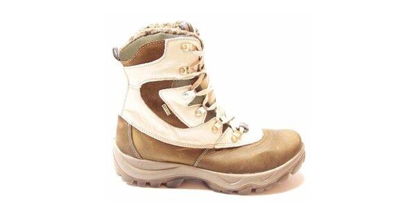 Dámské zimní boty se zateplenou podšívkou Numero Uno