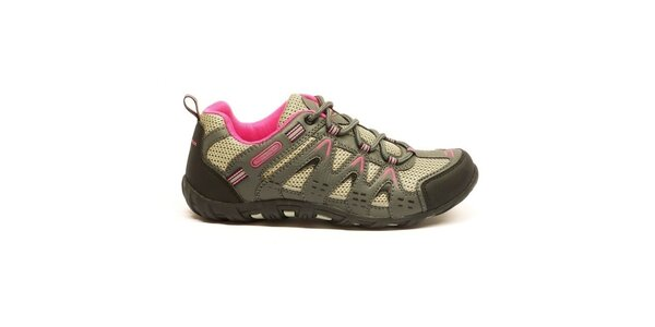 Dámské nízké tříbarevné trekové boty Numero Uno
